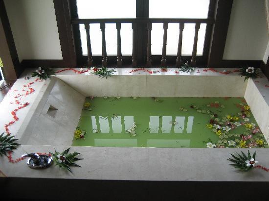 Pangkor Laut Resort: Asian bath