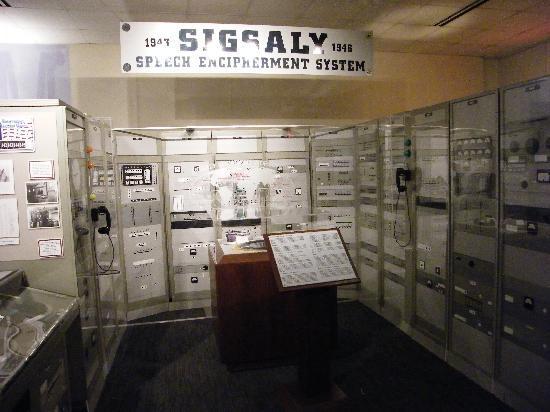 National Cryptologic Museum: SIGSALY (43-46)