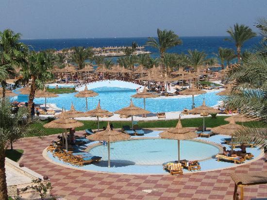 Albatros Resort Hotel Hurghada : vista dalla mia camera