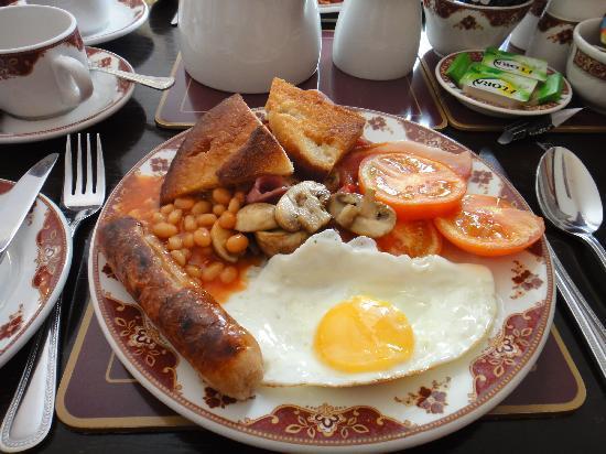 Athenaeum Lodge: Full English breakfast - regular size