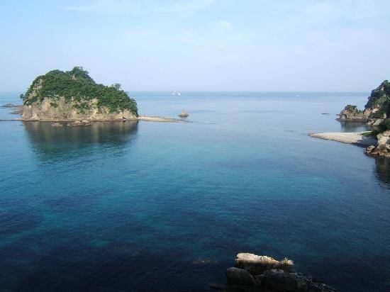 Nishiizu-cho, Japón: 部屋からの景色