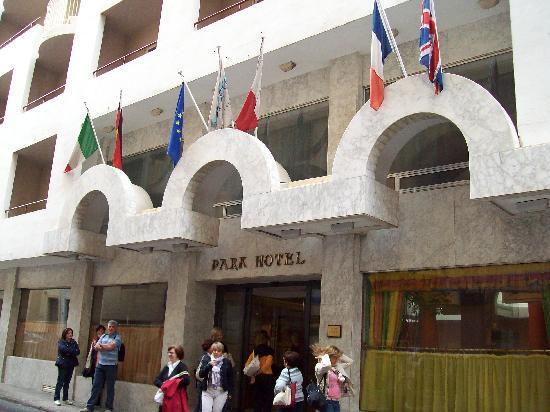 Park Hotel: entrata