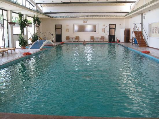 Hotel President Terme: 温泉の屋内プール