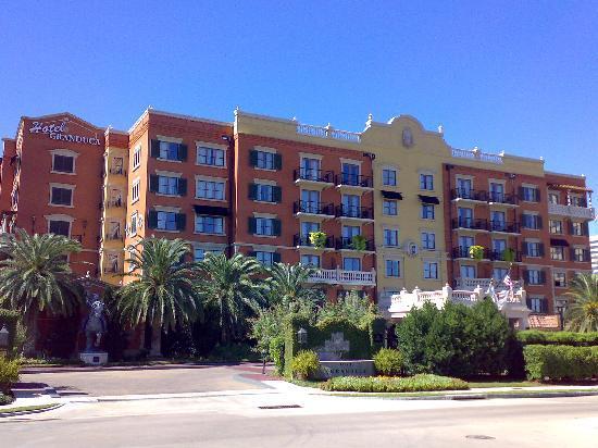 Hotel Granduca Houston: Hotelfassade
