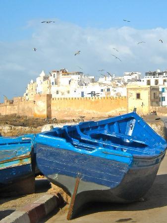 Essaouira, Marrocos: dal porto