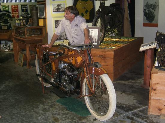 Maggie Valley, NC: The World's rarest Bike...and it runs also
