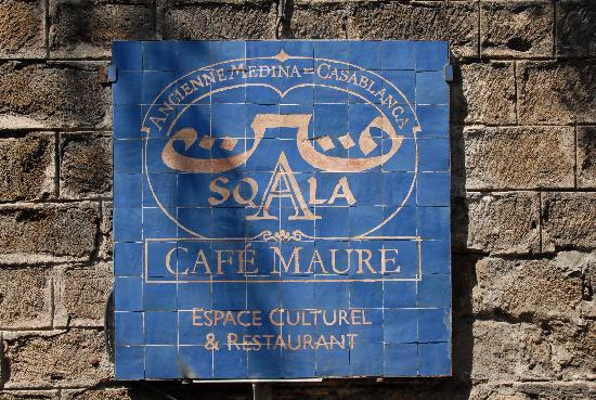 Restaurant Cafe La SQALA: entrance /l entrée