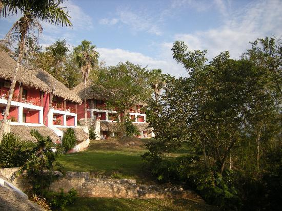Camino Real Tikal: view from the balcony