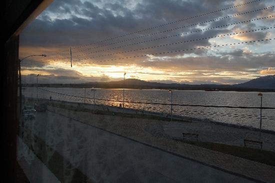 Kau Patagonia: Vista desde la habitación que tuvimos