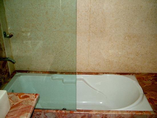Inn at Delhi: sparkling bathroom