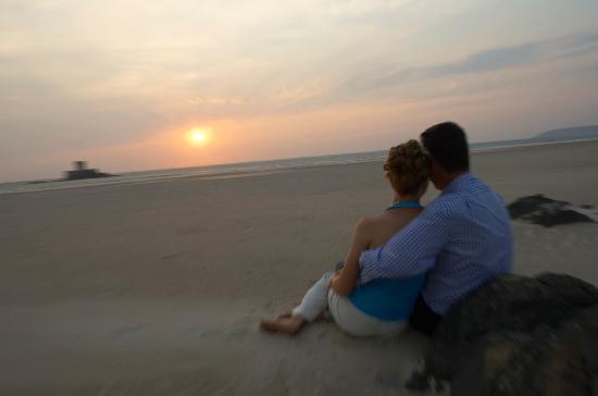 The Atlantic Hotel: Enjoying the sunset