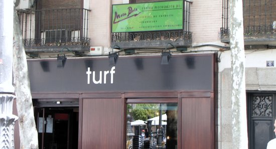 Turf front