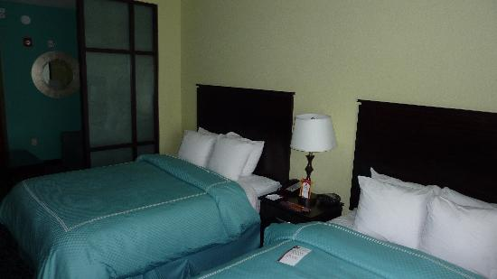 Comfort Suites at Fairgrounds - Casino : Doppelzimmer (handicapped room)