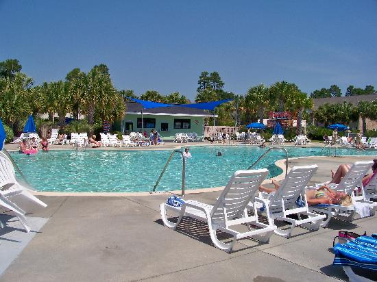 Surfside Beach, Güney Carolina: The pool area