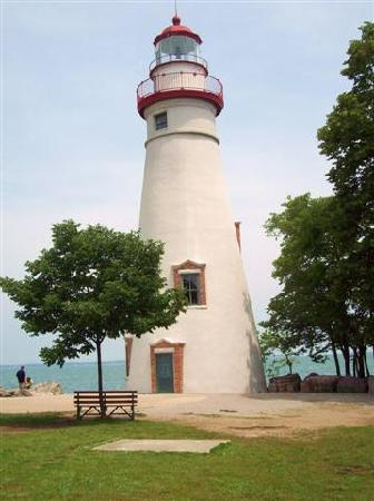 Marblehead, OH: Lighthouse view from the front