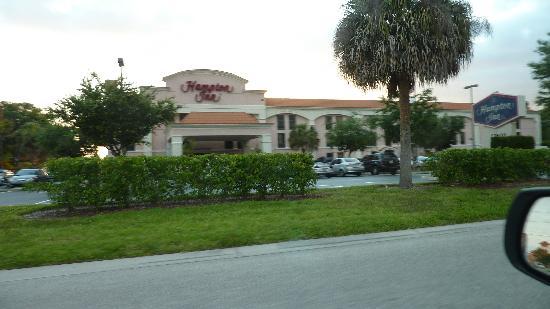 Hampton Inn Bonita Springs/Naples North: Hotelansicht