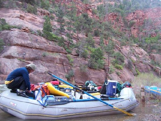 Bill Dvorak Rafting and Kayak Expeditions: Gear Boat