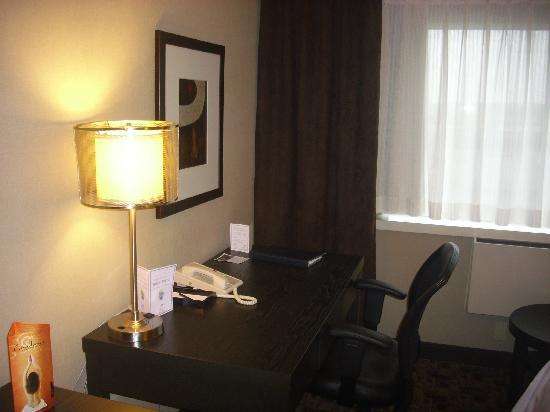 Moncton, Canadá: desk area