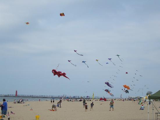 Grand Haven, MI: Kite Festival
