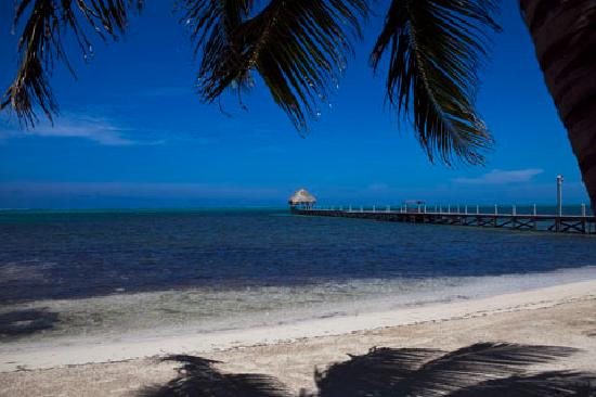 Pelican Reef Villas Resort: A private beach - no seawall