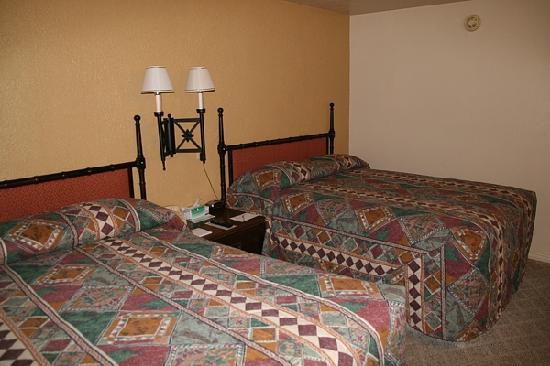 Circle D Motel: Unser Zimmer