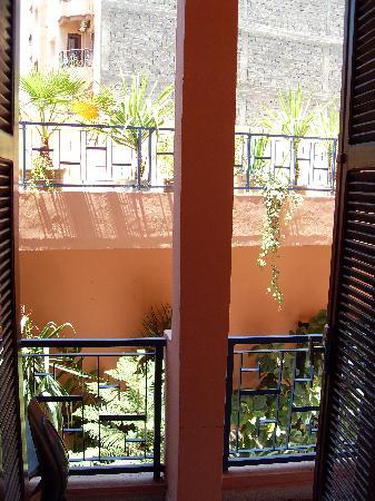 Du Pacha: private balcony