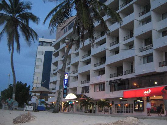 Hotel Tiuna: vista desde la playa