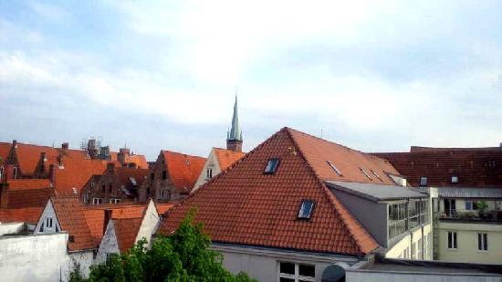 Phoenix Hotel Alter Speicher: 部屋の窓からの眺め