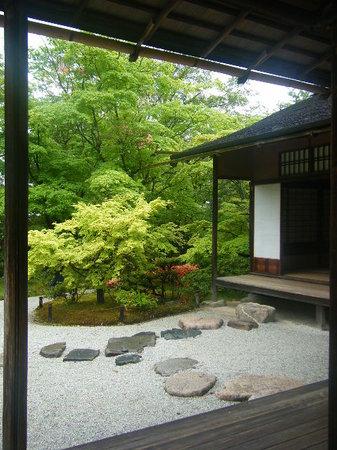 Shugakuin Imperial Villa: 客殿より