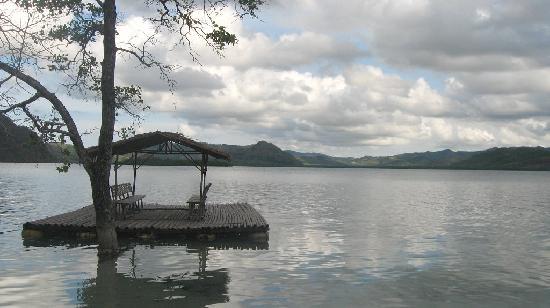Majika's Island Resort: early morning at Majika