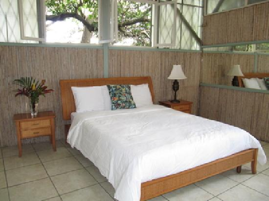 Rainforest Dreams Bed & Breakfast: One of the rooms off the patio