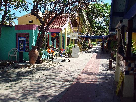 Divi Flamingo Beach Resort and Casino : Resort's row of shops
