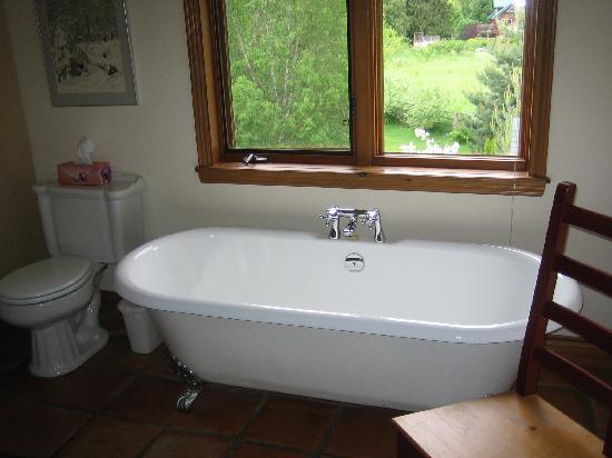 Pemberton Valley Inn : champagne bathroom