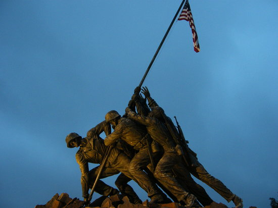 U.S. Marine Corps War Memorial: Iwo Jima Memorial
