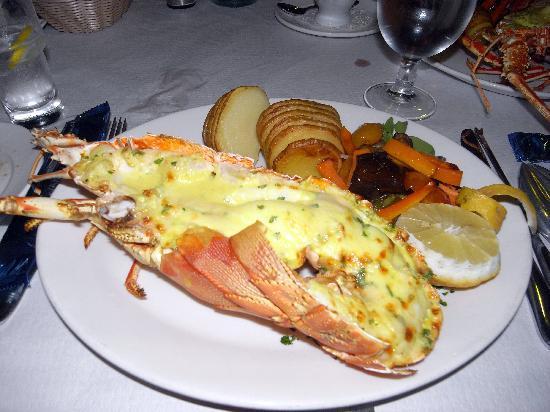 Porto Vecchio: Lobster thermidor
