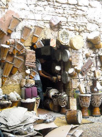 Essaouira, Marrocos: negozio