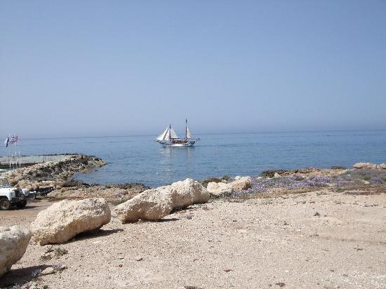 Avanti Hotel: Beach front to Paphos