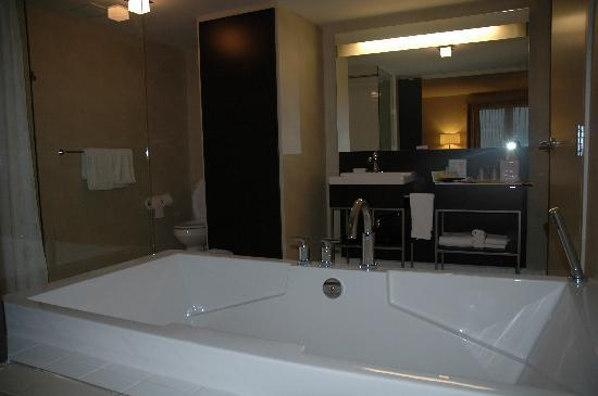 Four Points by Sheraton Levis Convention Centre: Great Bathtub and spacious bathroom!