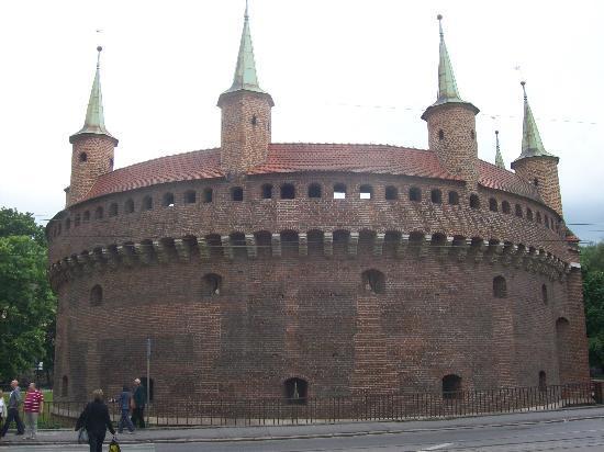 Krakow, Poland: The Barbican