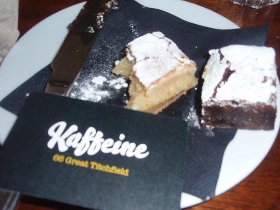 Kaffeine: the most delicious brownie or blondie you will EVER taste!