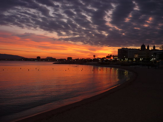 Saint-Raphael, France: sunset