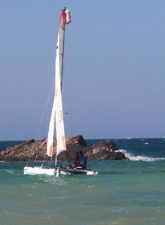 Seferihisar, ตุรกี: Dart sailing