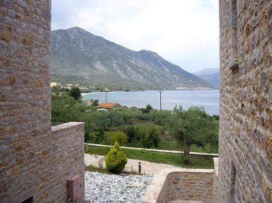 Poulithra, Yunanistan: Inside SMYROS RESORT (sea view)