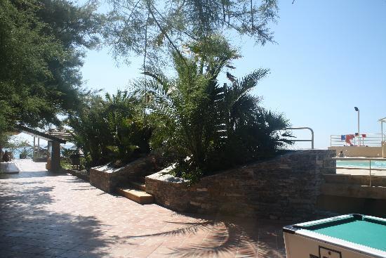 La Vallicella : Piscine sur le sable