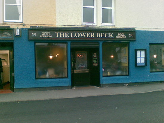 """View to """"THE LOWER DECK"""" from the harbour street"""
