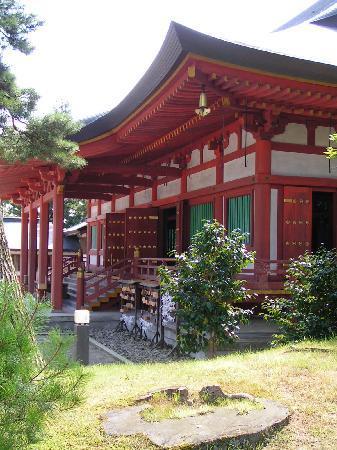 Motsu-ji Temple: Hondo