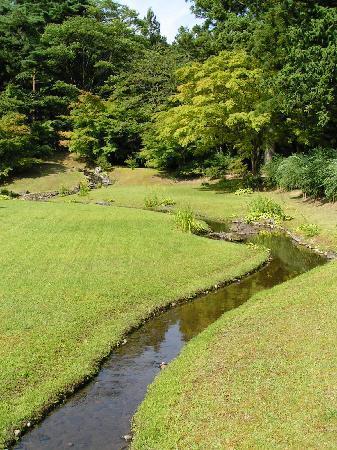 Motsu-ji Temple: Yarimizu Flüsschen