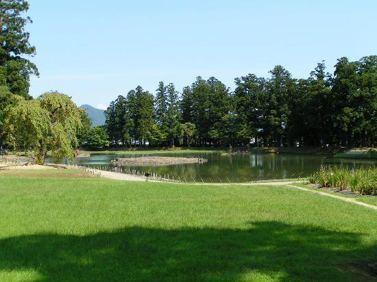 Motsu-ji Temple: Der grosse Teichgarten