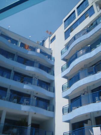 Aphrodite Hotel: Hotelgebäude