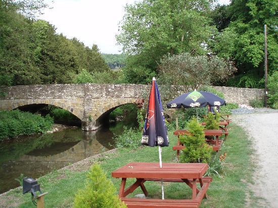 The Riverside Inn & Restaurant: The Riverside Inn garden